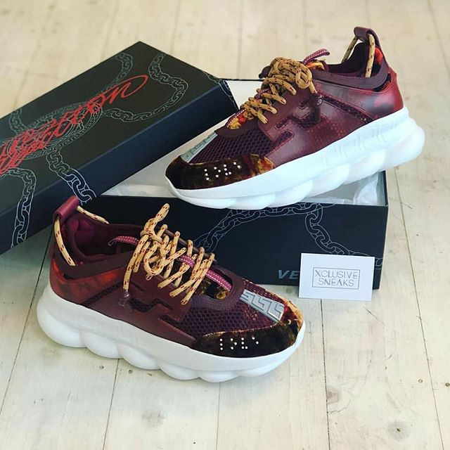 versace shoes chain reaction price
