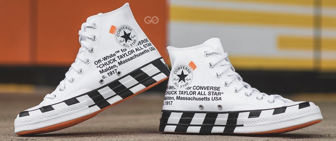 Off-White x Converse Chuck
