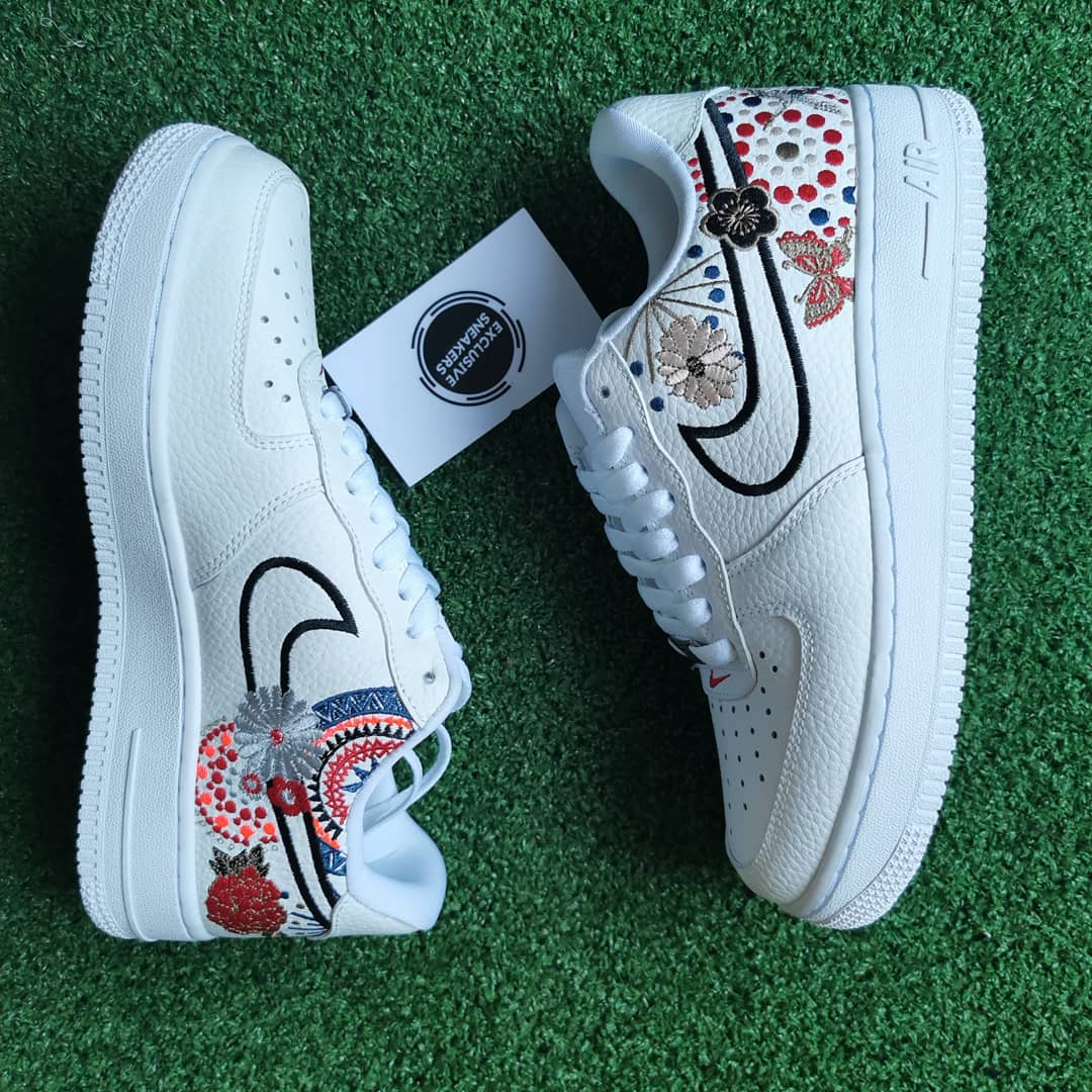 Nike Airforce 1 Embroidery - Exclusive